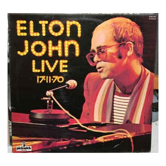 Elton John - Live 17-11-70