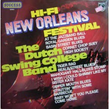 The Dutch Swing College Band ‎– Hi-Fi New Orleans Festival