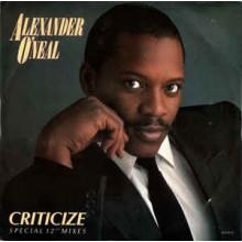 """Alexander O'Neal – Criticize (Special 12"""" Mixes)"""
