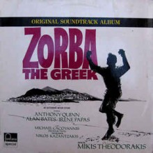 Mikis Theodorakis ‎– Zorba The Greek - Original Soundtrack -