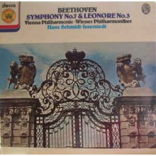 Beethoven / Hans Schmidt-Isserstedt, Vienna Philharmonic* ‎– Symphony No. 7/ Leonore Overture