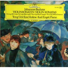 Johannes Brahms / Yong Uck Kim, Karl Engel – Violinsonaten • Violin Sonatas