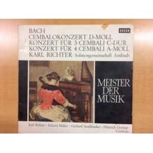 Bach*, Karl Richter, Solistengemeinschaft Ansbach – Cembalokonzert D-Moll