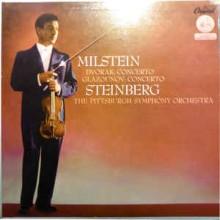 Milstein*, Dvořák*, Glazounov*, Steinberg*, The Pittsburgh Symphony Orchestra – Violin Concertos