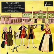 Mozart, Günter Kehr ‎– Symphony No. 18 In F Major, K.130 / Symphony No. 19 In E Flat Major, K.132