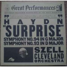 "Haydn - Szell, Cleveland Orchestra ‎– ""Surprise"" (Symphony No. 94 In G Major / Symphony No. 93 In D Major)"