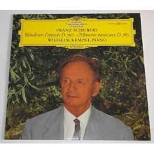 Franz Schubert, Wilhelm Kempff – Wanderer-Fantasie D.760 Moments Musicaux D.780
