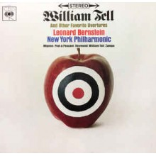 Leonard Bernstein / New York Philharmonic* ‎– William Tell And Other Favourite Overtures
