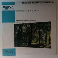 Brahms / Antal Dorati Conducting The Minneapolis Symphony Orchestra – Symphony No. 2 In D Major Op. 73