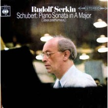Rudolf Serkin - Schubert ‎– Piano Sonata In A Major (Opus Posthumous)