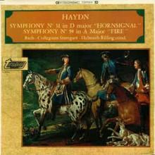 Haydn, Helmuth Rilling, Bach Collegium, Stuttgart* – Symphonies Nos. 31 & 59