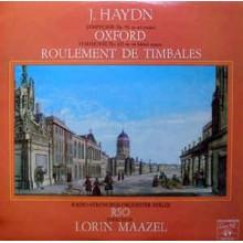 J. Haydn - Radio-Symphonie-Orchester Berlin, Lorin Maazel – Symphonie No. 92