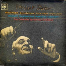 Bruckner / Wagner, Bruno Walter Conducting Columbia Symphony Orchestra