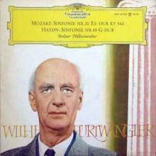 Mozart / Haydn – Berliner Philharmoniker, Wilhelm Furtwängler – Sinfonie Nr. 39 Es-dur KV 543 / Sinfonie Nr. 88 G-dur