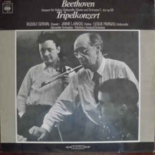 Beethoven, Rudolf Serkin / Jaime Laredo / Leslie Parnas, Alexander Schneider / Marlboro Festival Orchestra