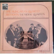 Ludwig van Beethoven, The Hungarian Quartet ‎– The Middle Quartets Volume Two