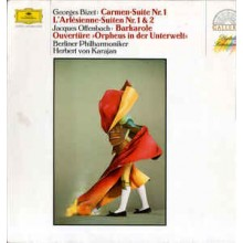 Georges Bizet, Jacques Offenbach, Berliner Philharmoniker, Herbert von Karajan