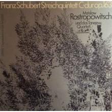 Franz Schubert, Mstislav Rostropowitsch, Tanejew-Quartett* – Streichquintett C-dur Op.163