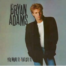 Bryan Adams ‎– You Want It, You Got It