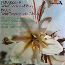 Ion Voicu, The London Symphony Orchestra, Felix Mendelssohn-Bartholdy, Max Bruch
