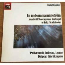 Felix Mendelssohn*, Philharmonia Orchestra, Otto Klemperer – En Midsommarnattsdröm - Musik Till Shakespeares Skådespel