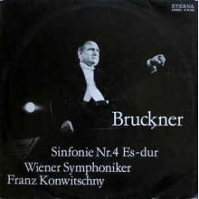 Bruckner / Wiener Symphoniker, Franz Konwitschny – Sinfonie Nr. 4 Es-dur