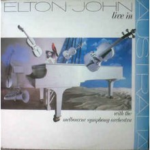 Elton John ‎– Live In Australia (With The Melbourne Symphony Orchestra)