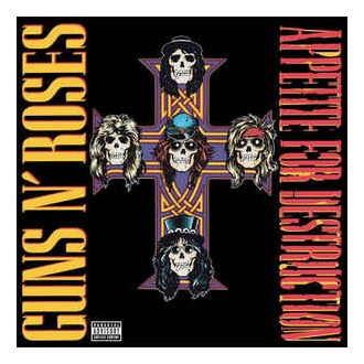 Guns N' Roses ‎– Appetite For Destruction