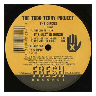 The Todd Terry Project – The Circus / Weekend