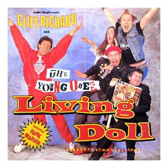 Cliff Richard And The Young Ones Featuring Hank Marvin – Living Doll