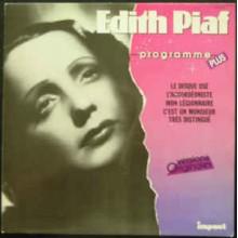 Edith Piaf – Programme Plus