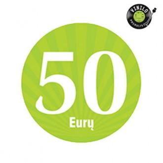 50,00 € dovanų kuponas