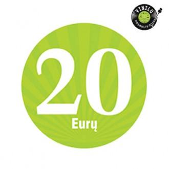 20,00 € dovanų kuponas